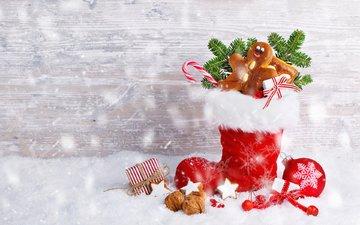 новый год, подарки, рождество, башмак, sabine dietrich