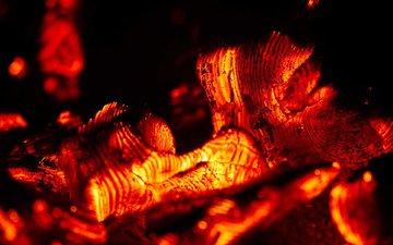 macro, coal, the fire, yuri_kruglikov