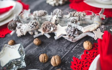 новый год, орехи, рождество, пирожное, karolina grabowska