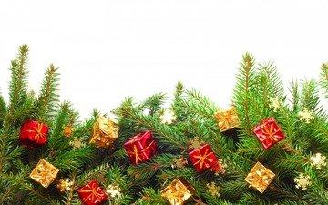 новый год, елка, подарки, рождество, декор