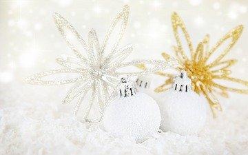 новый год, шары, рождество, декор