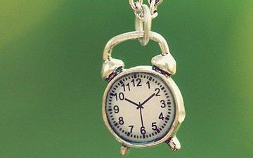 часы, кулон, украшение