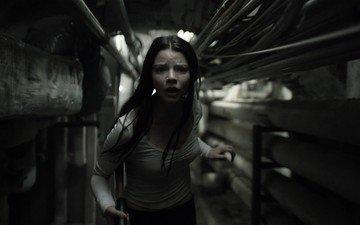 девушка, взгляд, фильм, волосы, лицо, триллер, сплит
