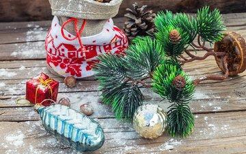 новый год, рождество, елочные украшения