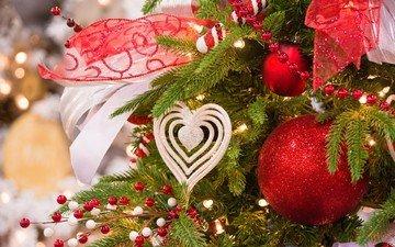 новый год, елка, рождество, елочные украшения