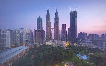 the city, malaysia, kuala lumpur