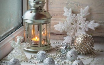 new year, lantern, christmas, christmas decorations