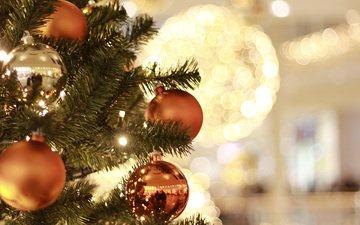 new year, tree, decoration, christmas