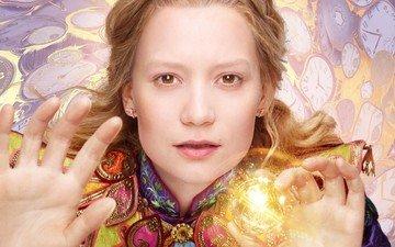 girl, look, hair, face, actress, mia wasikowska, alice in wonderland