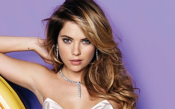 decoration, dress, blonde, look, model, face, actress, celebrity, ashley benson