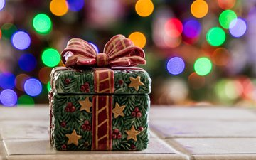 подарок, рождество, коробка, банка, шкатулка, ava peterson