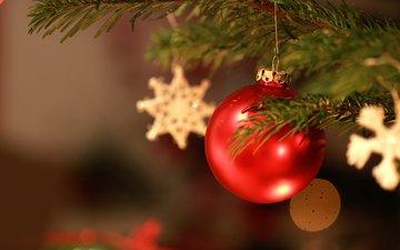 новый год, елка, звезды, шар, рождество, елочные игрушки, jonas haase