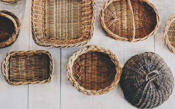 form, baskets, basket, products, braided