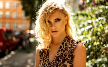 girl, portrait, look, hair, face, carla, miro hofmann