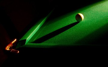 ball, black background, the game, billiards, pocket