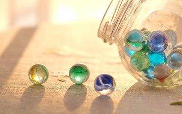 шары, шарики, стекло, стеклянные шары