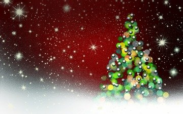 новый год, елка, звезды, рождество