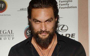 look, actor, face, male, beard, celebrity, jason momoa