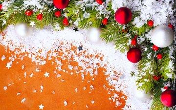 новый год, украшения, игрушки, праздник, рождество, веточка ели