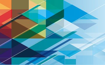 abstraction, pattern, color, form, mosaic, geometry