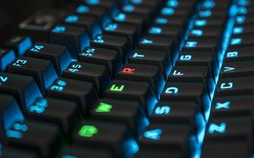 клавиатура, клавиши, компьютер