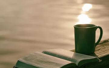 mug, tea, book, reading
