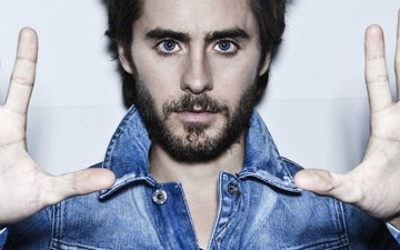 look, actor, face, jared leto, rock musician, haircut. singer