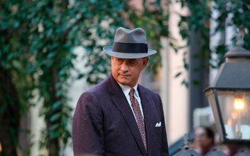 actor, hat, tom hanks