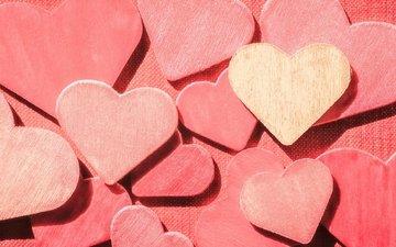 любовь, сердца, сердечки