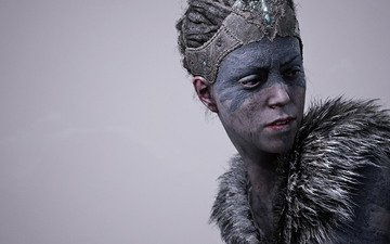 girl, look, hair, the game, face, game, hellblade: senua''s sacrifice
