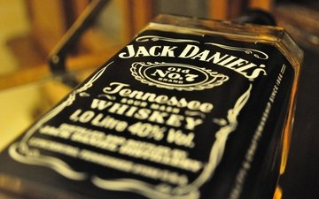 macro, bottle, alcohol, whiskey, jack daniels, jack daniel, jack daniel's