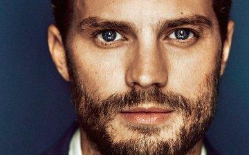 portrait, look, actor, face, beard, celebrity, jamie dornan