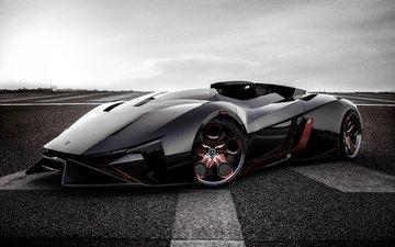 lamborghini, sports car, concept car, diamante