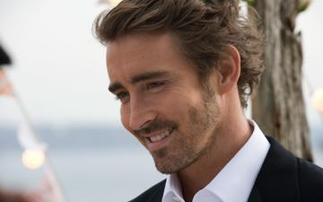 smile, look, actor, face, male, lee pace