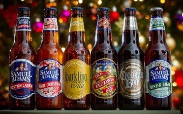 блики, пиво, бутылки, алкоголь