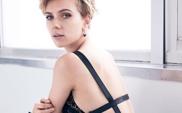 girl, blonde, look, model, hair, face, actress, singer, scarlett johansson
