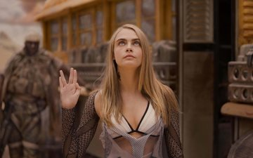 science fiction, action, filme, cara delevingne, 2017, valerian and the city of a thousand planets, valerian und stadt der tausend planeten, luc besson