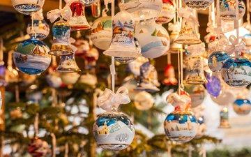 новый год, елка, игрушки, рождество, елочные украшения