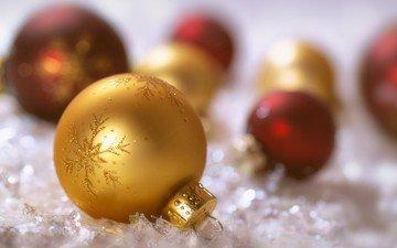 das neue jahr, kugeln, weihnachten, weihnachtsschmuck