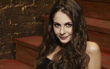 глаза, девушка, улыбка, взгляд, волосы, лицо, актриса, уилла холланд