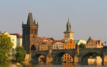 bridge, prague, charles bridge, czech republic