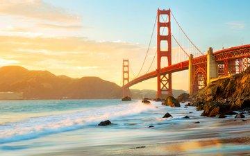 bridge, usa, san francisco, golden gate