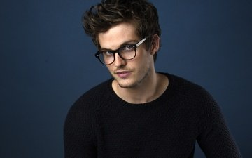 look, glasses, actor, face, male, daniel sharman
