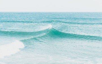 вода, волны, море