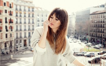 girl, the city, look, model, face, actress, blanca suarez