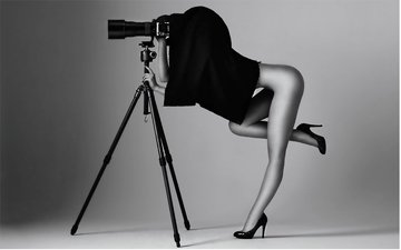 girl, black and white, photographer
