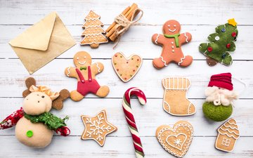 человечки, праздник, печенье, леденцы, карамель, декор, пряники, новогоднее печенье, имбирные пряники