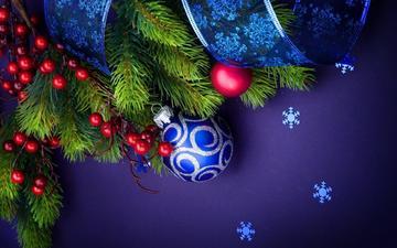 новый год, игрушка, ветка ели, noviy god, igruschka, vetka eli