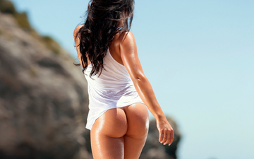 girl, ass, hair, mike, beautiful, long, is, dark-haired