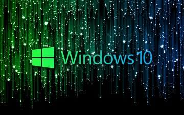 фон, цвет, логотип, операционная система, винда, windows 10, aktore